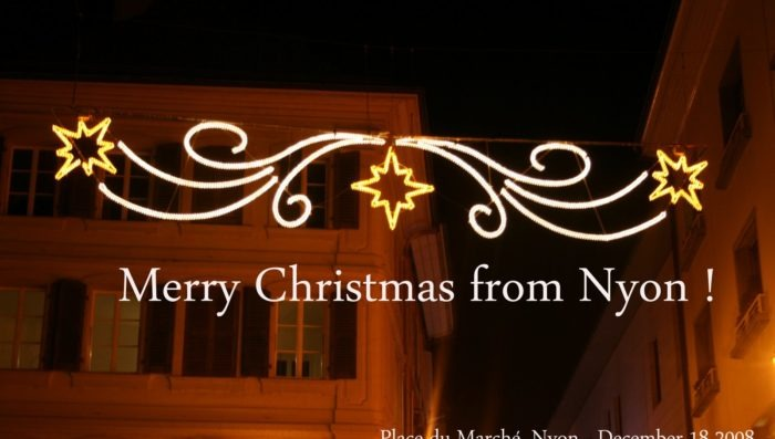 Merry Christmas from Nyon!