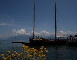 Sail like a Duke or a Count on Lake Geneva.