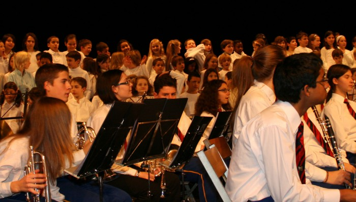 Brocante and Christmas fair, Conservatoire's end of year concert