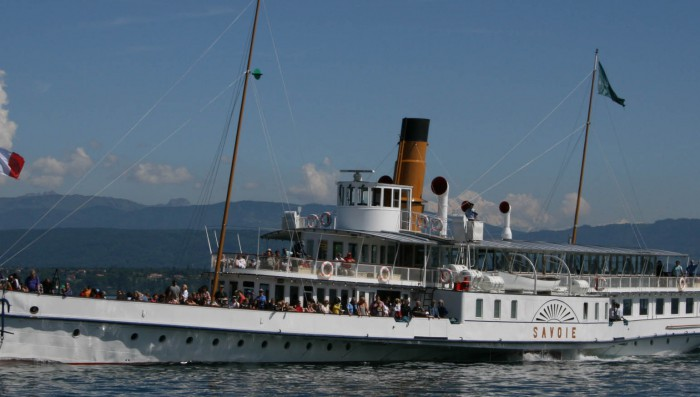 Swiss Navigation Day 7th May – Special Family offer on Lake boats – New tour of Nyon