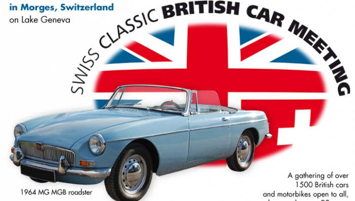 Four free invitations for readers to Classic Car Show in Morges