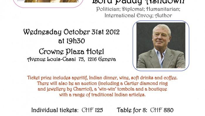 Raising Multilingual Children workshop/ Paddy Ashdown speaker at Gala Dinner