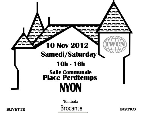 Big Bazaar in Nyon Saturday, Second Hand books in English, Toys, Gifts, Brocante and More