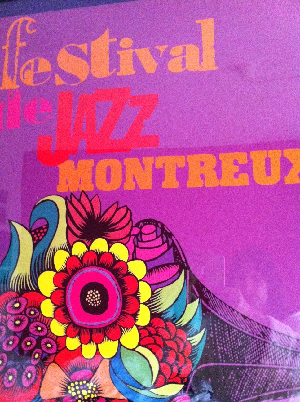 Montreux Jazz poster