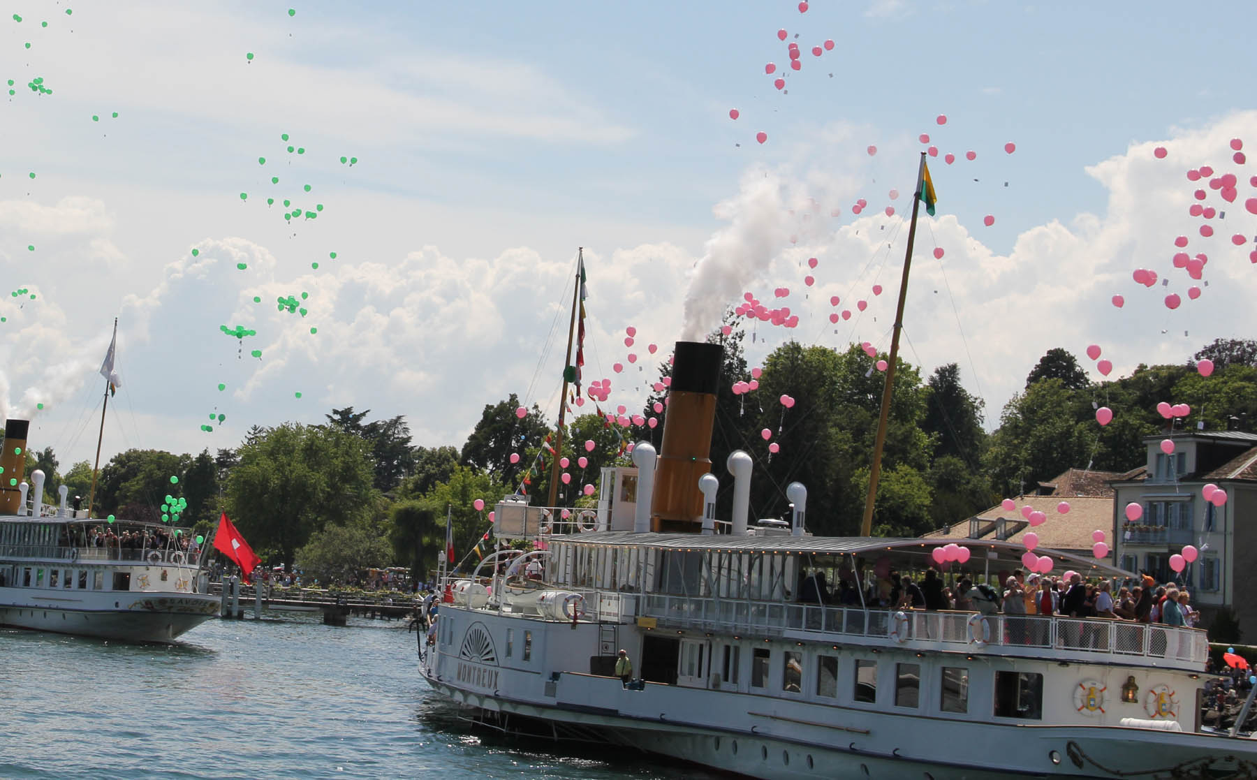 This Sunday – Spectacular Naval Parade in Nyon, La Côte English speaking church holds service in centre of Nyon