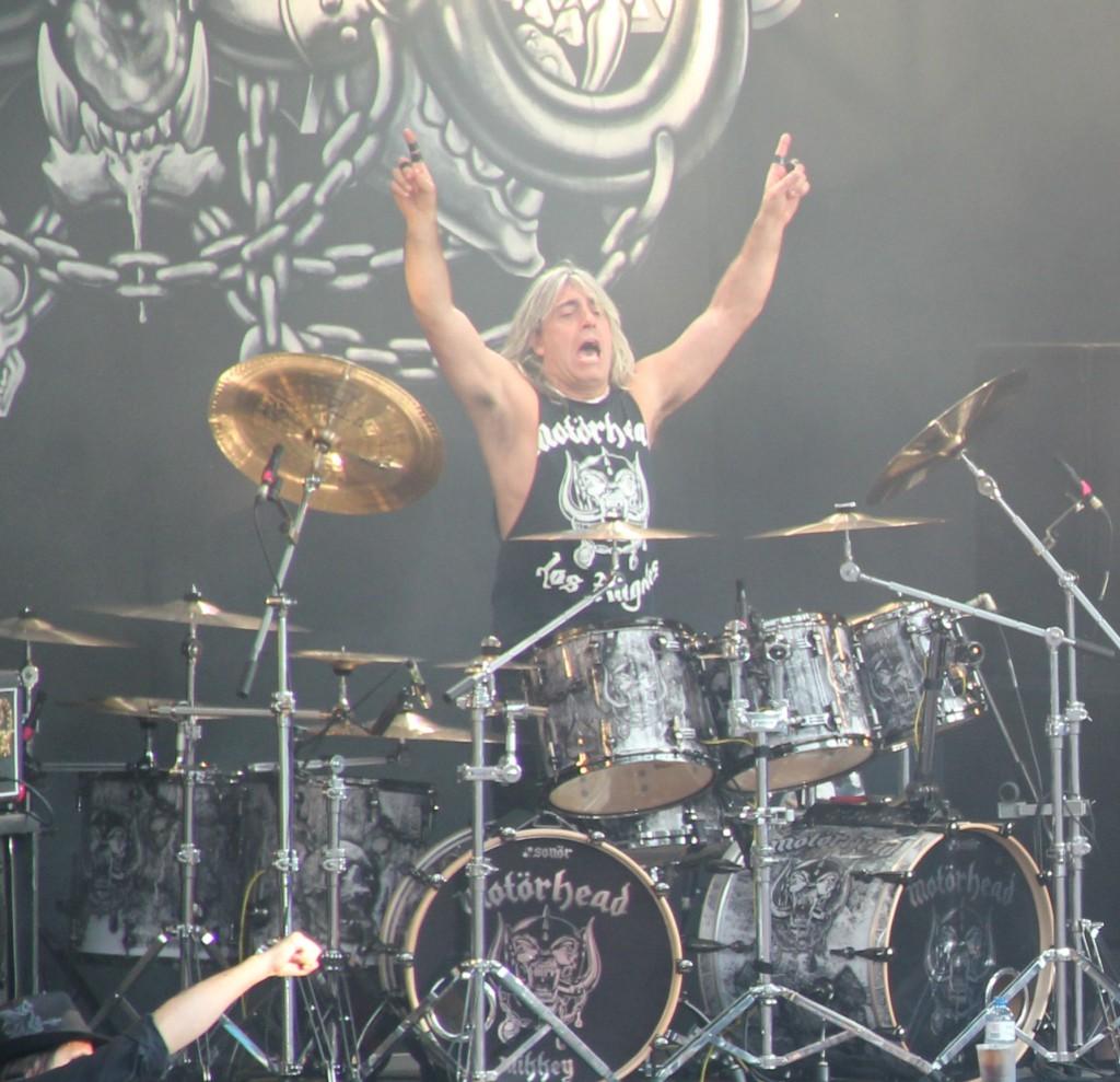 Motorhead drummer zoomed