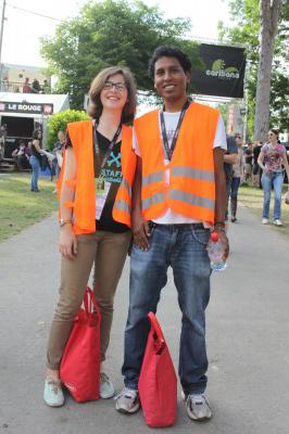 Orange jackets  1