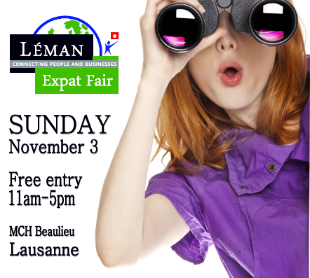 Expat fair on Sunday 3rd November. Information, Presentations, English Book Exchange and more!
