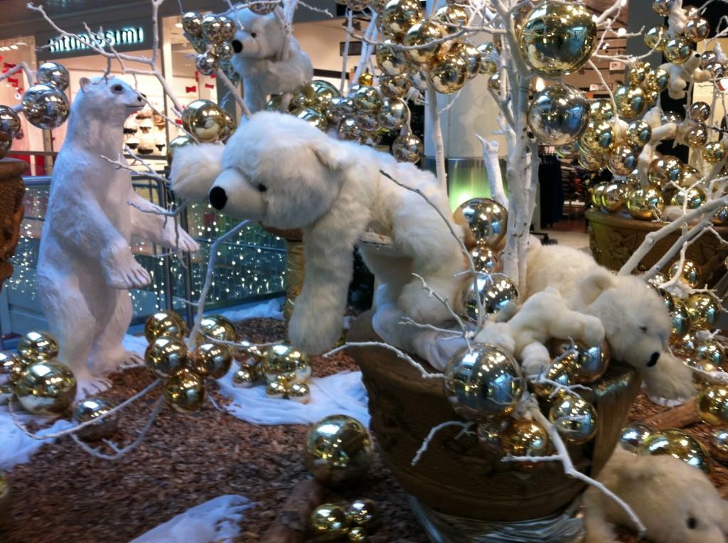 Christmas display Signy