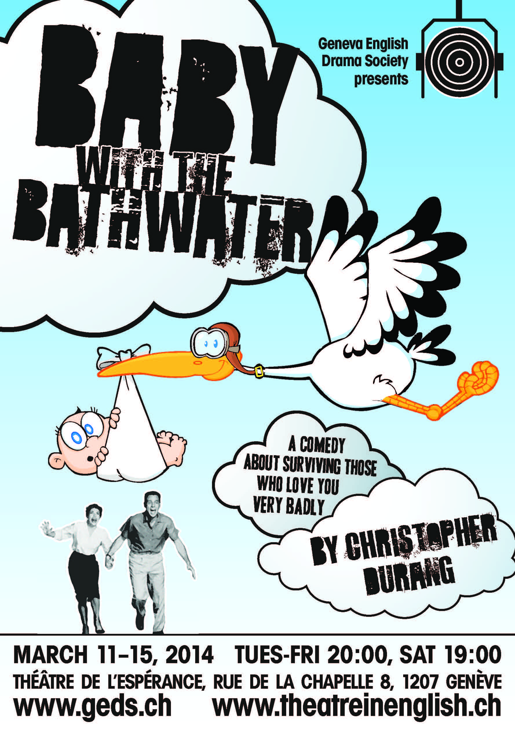 Comedy in English – Baby with the Bathwater