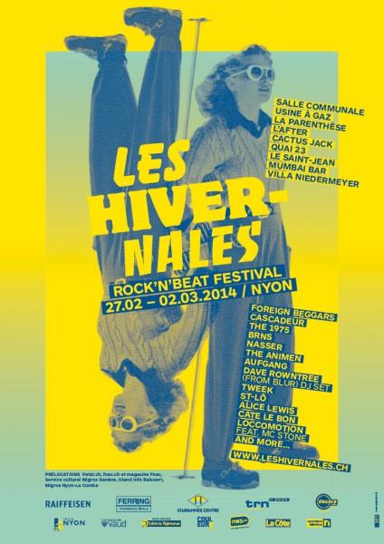 Poster Les Hivermales