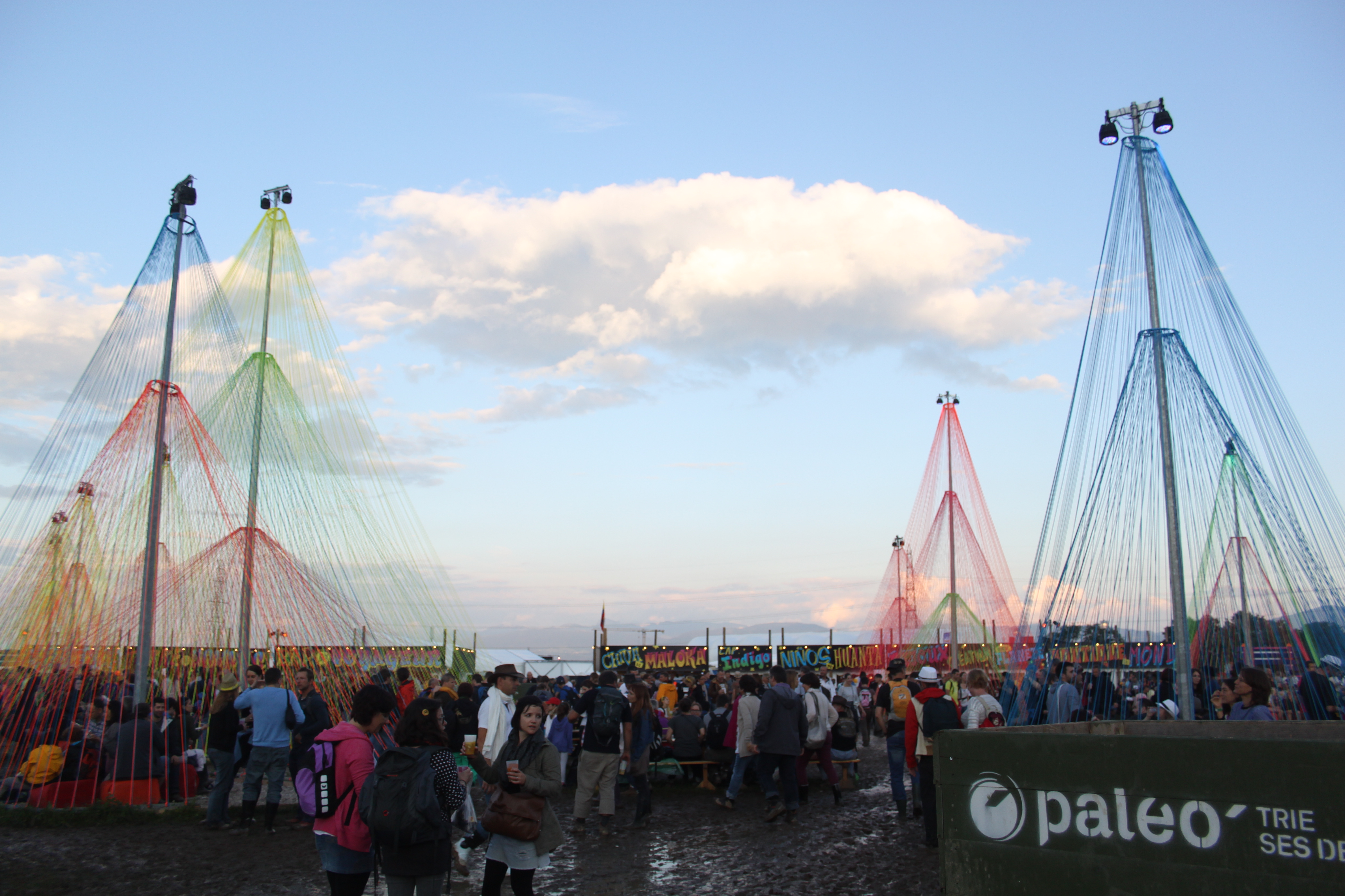 Paléo Day Five: Mud, Groove and Style