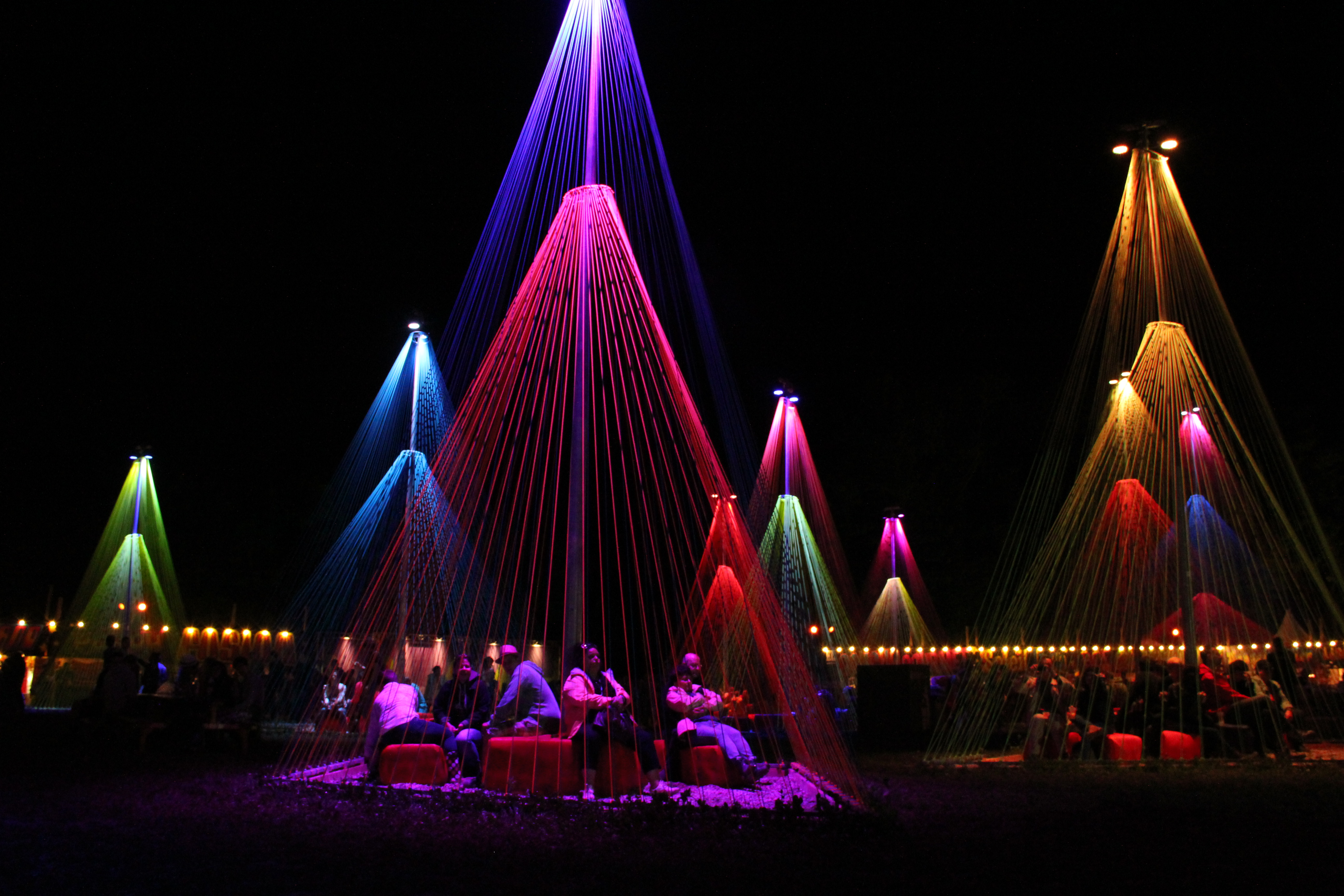 Colours of Paléo - 1st night 2014