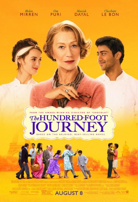 """Win tickets to Monday Movie in English in Nyon – """"The Hundred Foot Journey""""  starring Helen Mirren"""