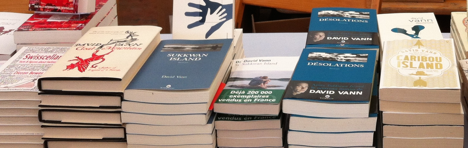 Book and Literary events in English – Book fair in Morges in September, Reading group in Crans, Writers' Group in Geneva