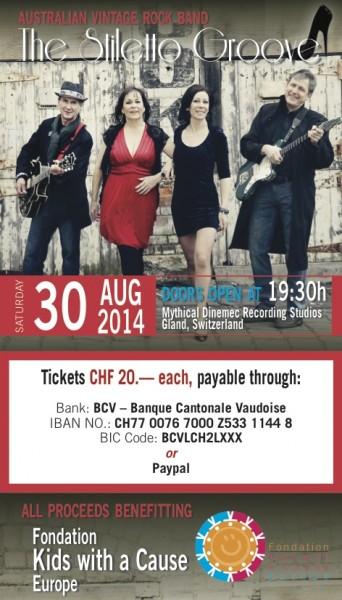 Stiletto Concert Poster (1)