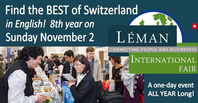 How to start your own business in Switzerland/ Job Searching – Advice at Expat Fair this weekend