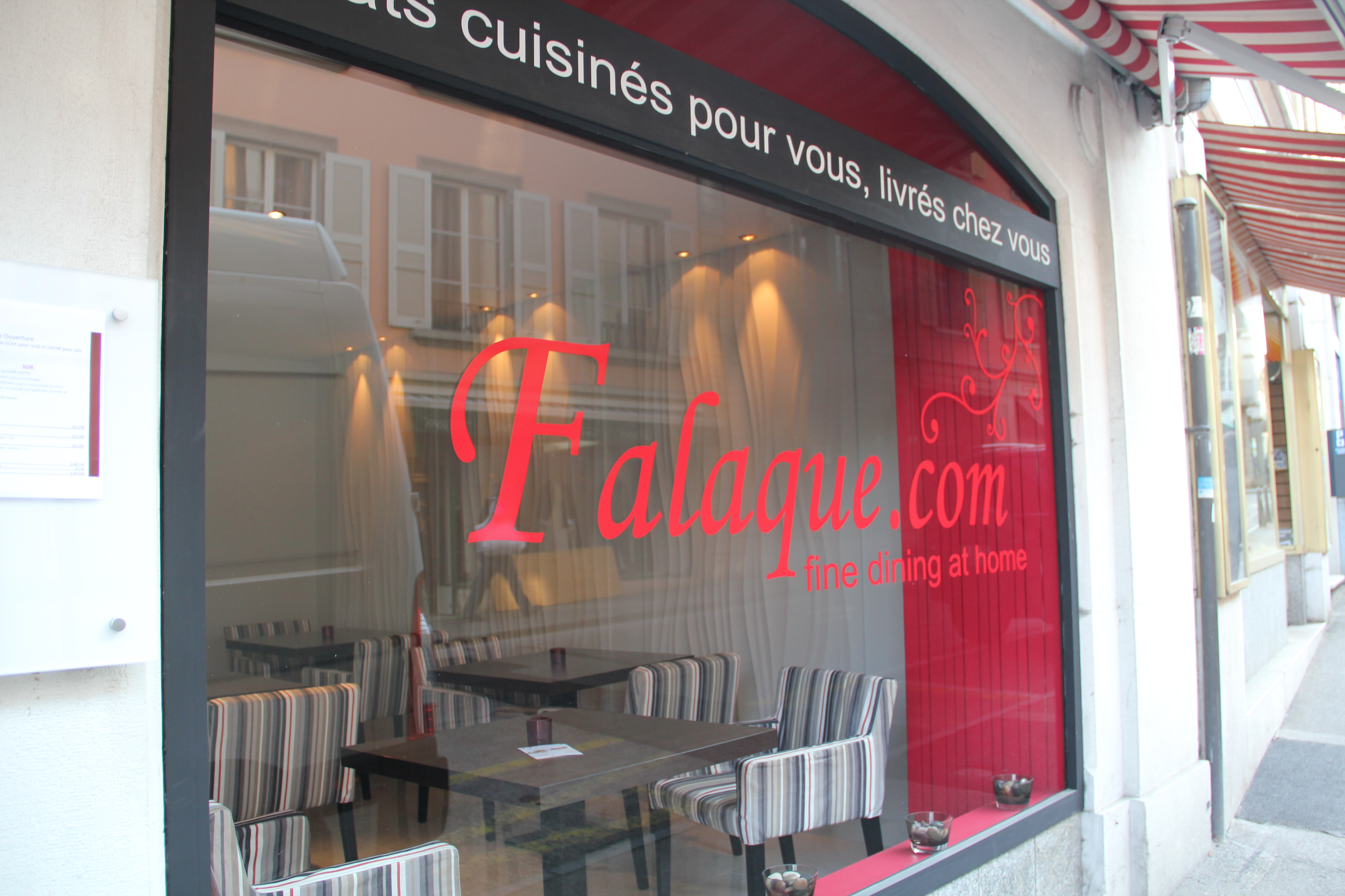 A New York concept in Nyon – Healthy take away food from Falaque