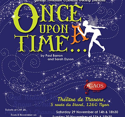 Pantomime time in Nyon – Oh yes it is!