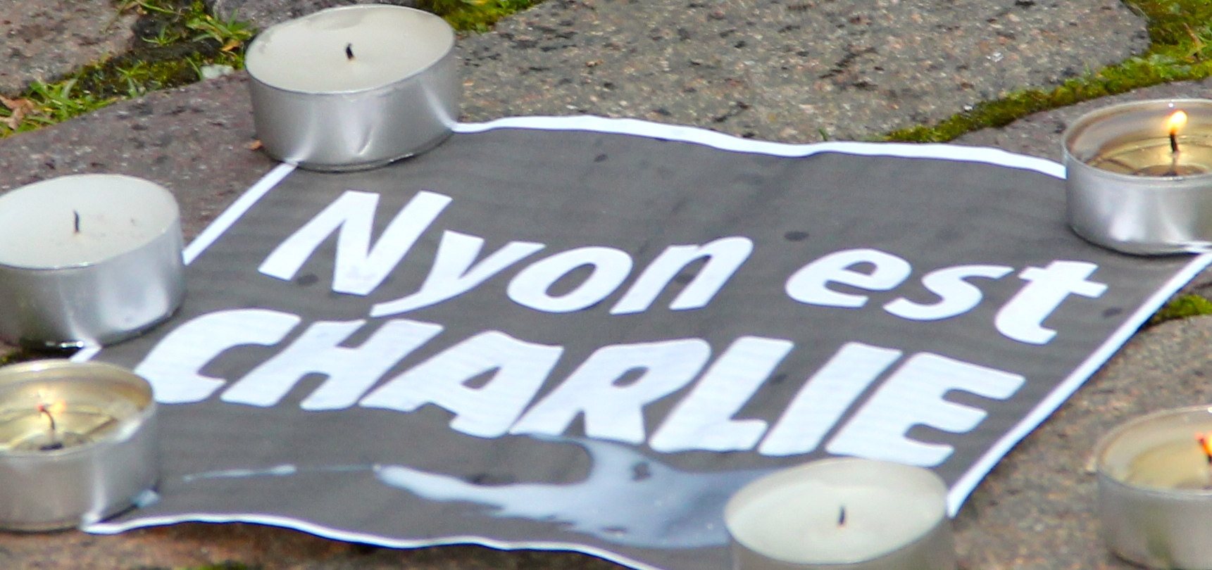 Photos from two recent Nyon events – Three Kings Day and Je Suis Charlie vigil