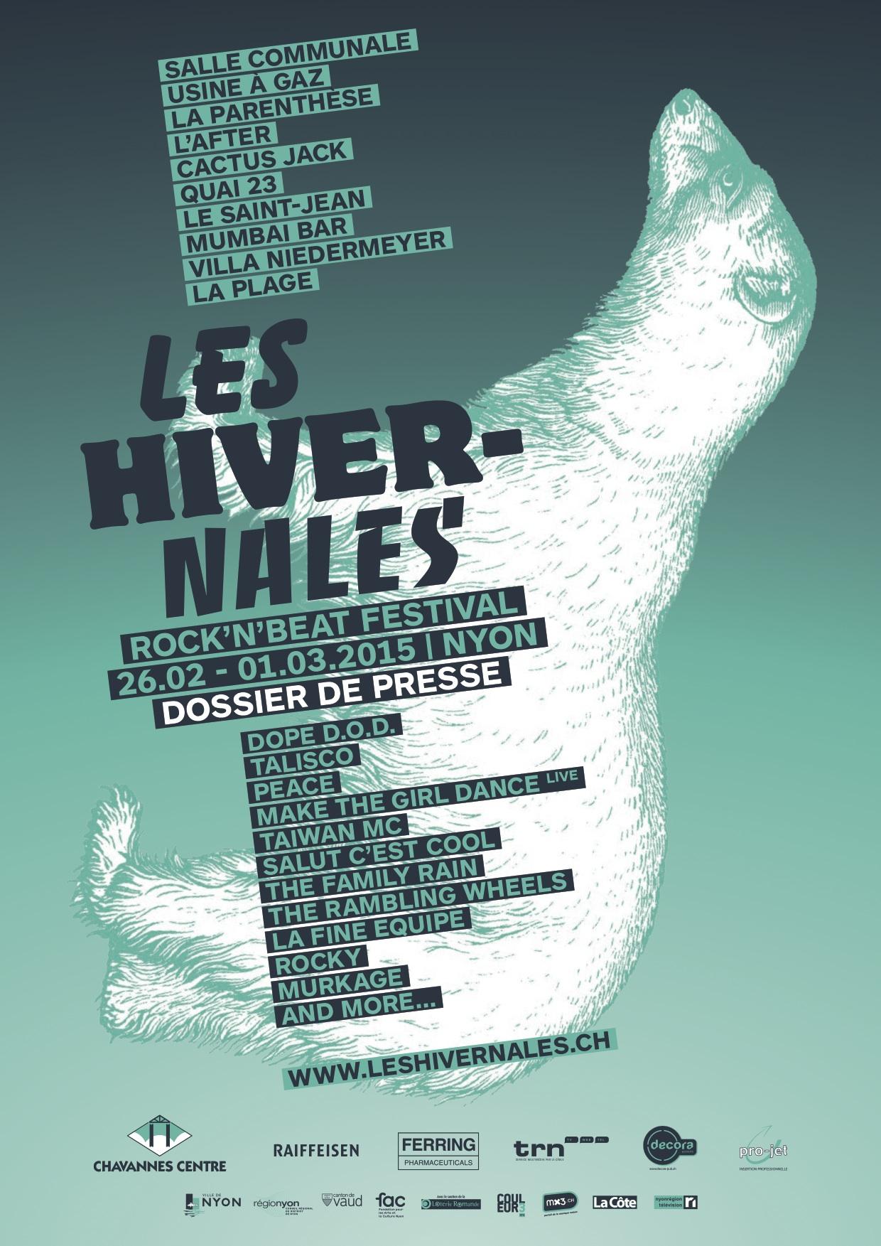 Winter Rock' n' Beat festival this weekend