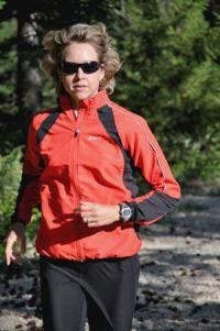 Rachel Frei running