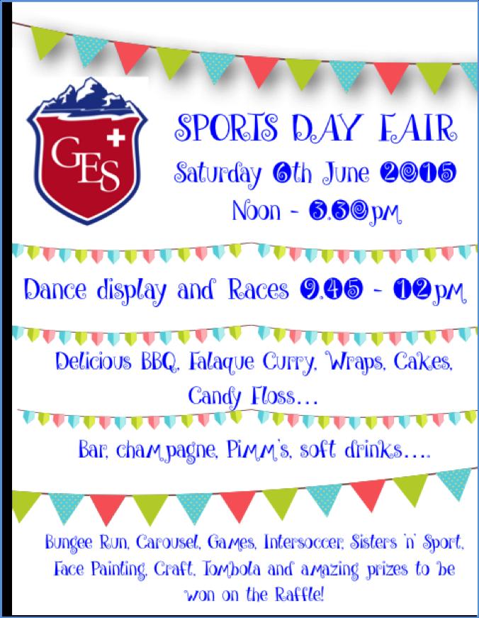 Sports Day Fair and Ben Elton Play