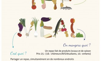 """""""The Meal"""" comes to Nyon on 19th Sept!  Big Communal meal in Centre of Town"""