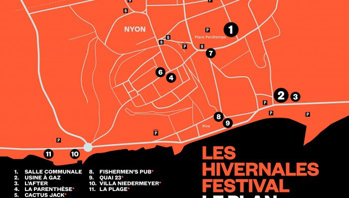 Les Hivernales – Nyon Winter Rock Festival opens Thursday 18th February