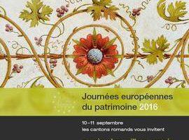 Heritage Weekend/ Jazz in Prangins 16 and 17 September/ Desalpe in St-Cergue 24 September