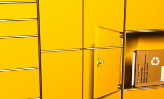 Collect and post packages 24 Hours a day –  La Poste Terminal installed near Nyon railway station