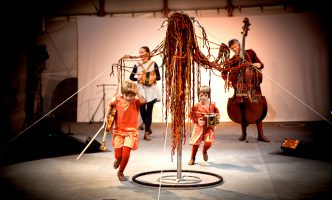 Family entertainment in Nyon this weekend – Award winning theatre company, with music and acrobatics