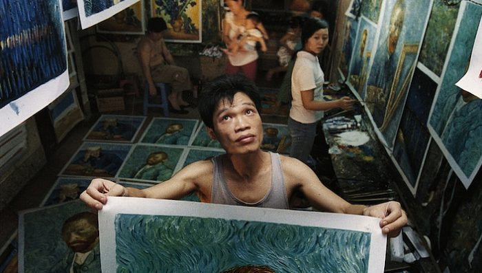China's Van Goghs – Reproducing famous art works – Film Thursday 27th in Nyon