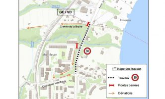 Work begins on Lake Road at Versoix – Expect Delays