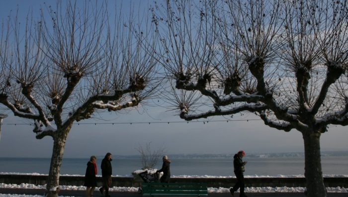 Images of snowy Nyon