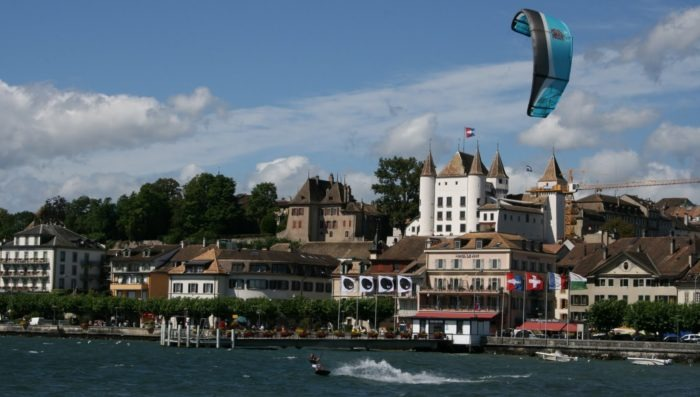 Nyon wins the gold medal of Swiss towns!