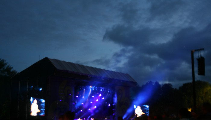 Johnny Clegg commands Nyon skies at Paléo