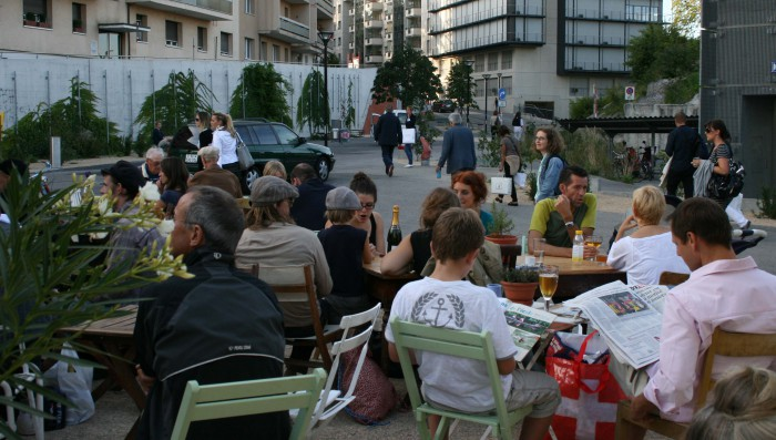 Living in Nyon evening drinks Wednesday evening