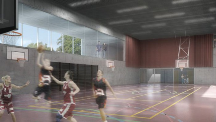 Brillantmont International School: New sports hall and classroom space