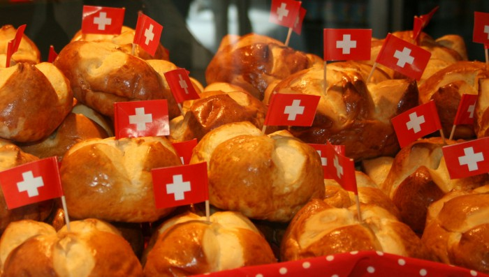 Swiss National Day celebrations across the area