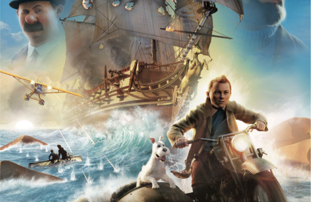 Tin Tin in Nyon – New Spielberg film out on Weds. Events, competitions around the release of film.