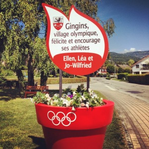 """Local girl from Gingins competes in Olympics. """"On the Road"""" film in English in Nyon tonight"""