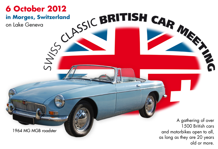 Four Free Invitations For Readers To Classic Car Show In Morges - Classic car invitations