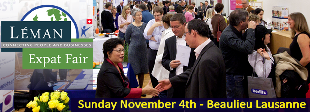 Big Expat fair in Lausanne on Sunday 4th Nov. French/ English conversation exchange wanted