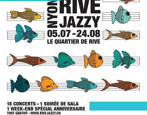 Rive Jazzy season has started – Live free music in Nyon each weekend