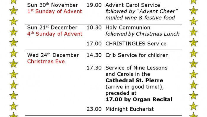 Local Christmas Church Services/ / Misc News
