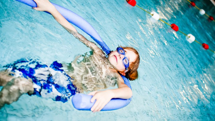Summer swimming courses for children and adults