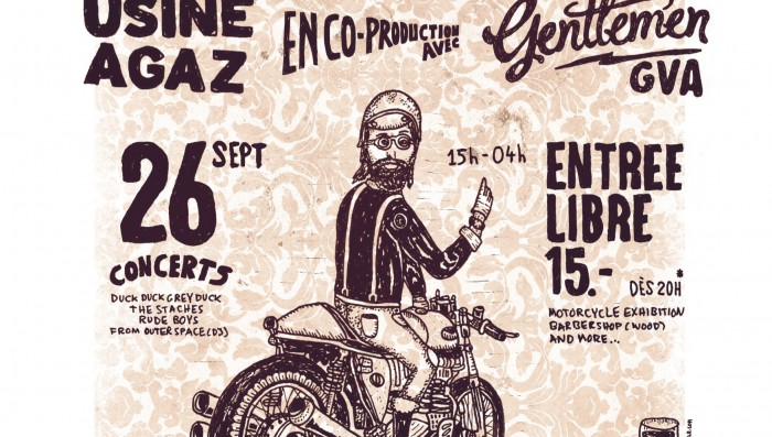 Film, Music,Vintage Motorbikes and Rock in Nyon