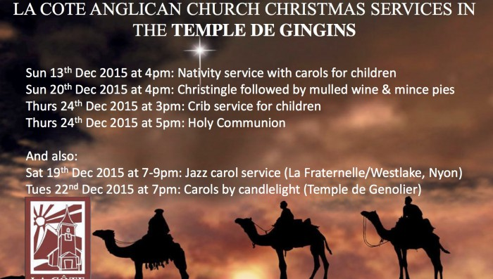 Christmas Church Services in Nyon