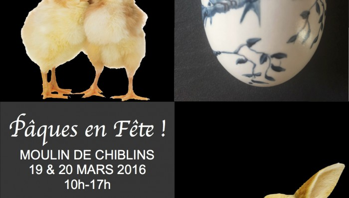 Easter Events this Weekend – at the Moulins de Chiblins and in Nyon